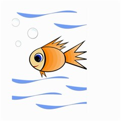 Cute Fish Large Garden Flag (Two Sides)