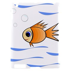 Cute Fish Apple iPad 2 Hardshell Case (Compatible with Smart Cover)