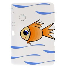 Cute Fish Samsung Galaxy Tab 8.9  P7300 Hardshell Case