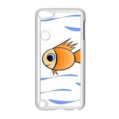 Cute Fish Apple iPod Touch 5 Case (White)