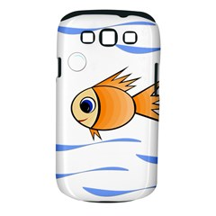 Cute Fish Samsung Galaxy S III Classic Hardshell Case (PC+Silicone)