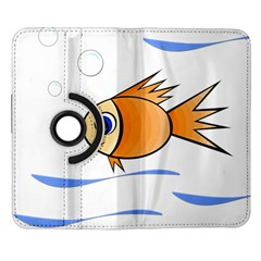 Cute Fish Samsung Galaxy Note II Flip 360 Case