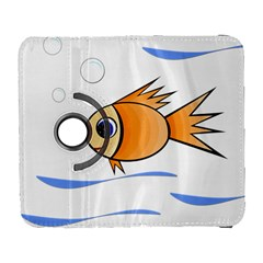 Cute Fish Samsung Galaxy S  III Flip 360 Case