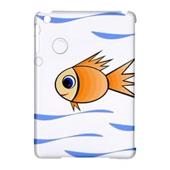 Cute Fish Apple iPad Mini Hardshell Case (Compatible with Smart Cover)