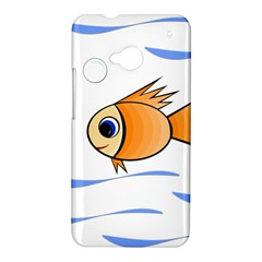 Cute Fish HTC One M7 Hardshell Case