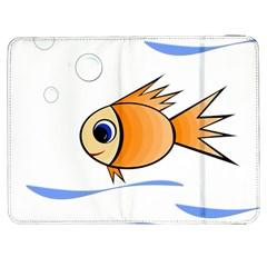Cute Fish Samsung Galaxy Tab 7  P1000 Flip Case