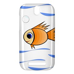 Cute Fish HTC One SV Hardshell Case