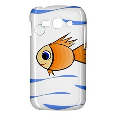 Cute Fish Samsung Galaxy Ace 3 S7272 Hardshell Case