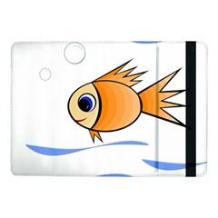 Cute Fish Samsung Galaxy Tab Pro 10.1  Flip Case