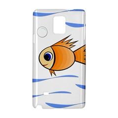 Cute Fish Samsung Galaxy Note 4 Hardshell Case