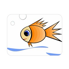 Cute Fish Double Sided Flano Blanket (Mini)