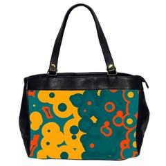 Bubbles                                                                              Oversize Office Handbag (2 Sides)