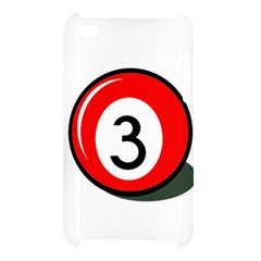 Billiard ball number 3 Apple iPod Touch 4