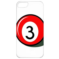 Billiard ball number 3 Apple iPhone 5 Classic Hardshell Case
