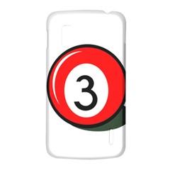 Billiard ball number 3 LG Nexus 4