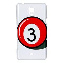 Billiard ball number 3 Sony Xperia T