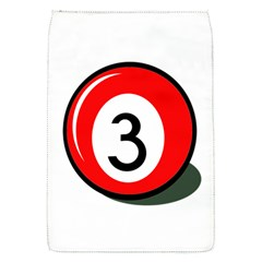 Billiard ball number 3 Flap Covers (S)
