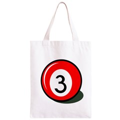Billiard ball number 3 Classic Light Tote Bag