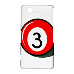 Billiard ball number 3 Sony Xperia Z3 Compact