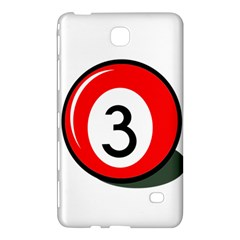 Billiard Ball Number 3 Samsung Galaxy Tab 4 (8 ) Hardshell Case