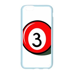 Billiard ball number 3 Apple Seamless iPhone 6/6S Case (Color)