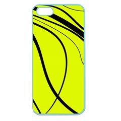 Yellow decorative design Apple Seamless iPhone 5 Case (Color)