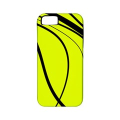 Yellow decorative design Apple iPhone 5 Classic Hardshell Case (PC+Silicone)