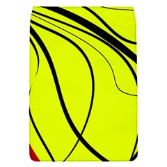 Yellow decorative design Flap Covers (S)