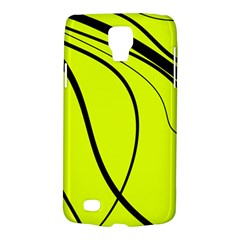 Yellow decorative design Galaxy S4 Active