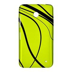 Yellow decorative design Nokia Lumia 630
