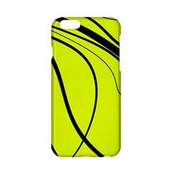 Yellow decorative design Apple iPhone 6/6S Hardshell Case