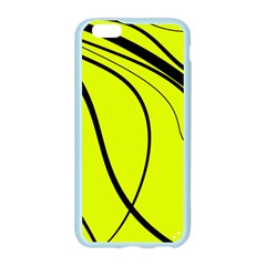 Yellow decorative design Apple Seamless iPhone 6/6S Case (Color)