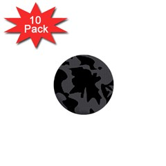 Decorative Elegant Design 1  Mini Buttons (10 pack)