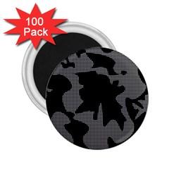 Decorative Elegant Design 2.25  Magnets (100 pack)