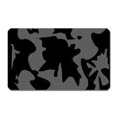 Decorative Elegant Design Magnet (Rectangular)