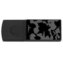 Decorative Elegant Design USB Flash Drive Rectangular (4 GB)