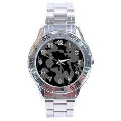 Decorative Elegant Design Stainless Steel Analogue Watch