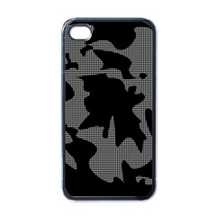 Decorative Elegant Design Apple iPhone 4 Case (Black)