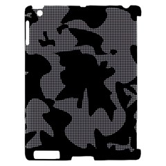 Decorative Elegant Design Apple iPad 2 Hardshell Case (Compatible with Smart Cover)