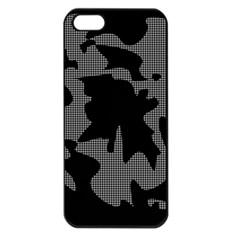 Decorative Elegant Design Apple Iphone 5 Seamless Case (black)