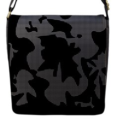 Decorative Elegant Design Flap Messenger Bag (S)