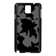 Decorative Elegant Design Samsung Galaxy Note 3 N9005 Case (Black)