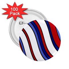 Decorative Lines 2.25  Buttons (100 pack)