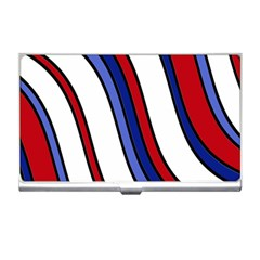 Decorative Lines Business Card Holders