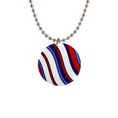 Decorative Lines Button Necklaces