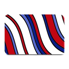 Decorative Lines Plate Mats