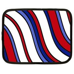 Decorative Lines Netbook Case (XL)