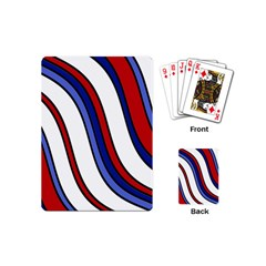 Decorative Lines Playing Cards (Mini)