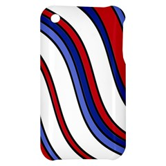 Decorative Lines Apple iPhone 3G/3GS Hardshell Case