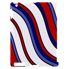 Decorative Lines Apple iPad 2 Hardshell Case (Compatible with Smart Cover)
